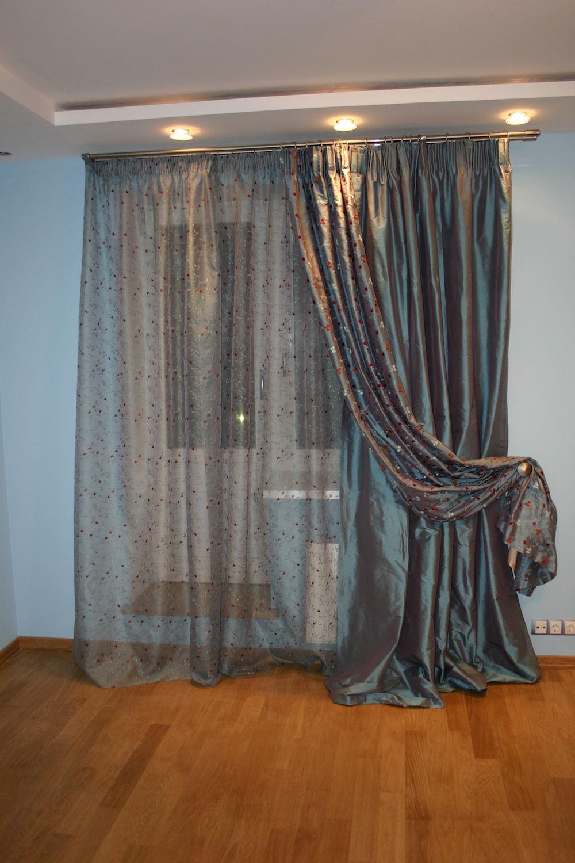 Дизайн шторы своими руками
